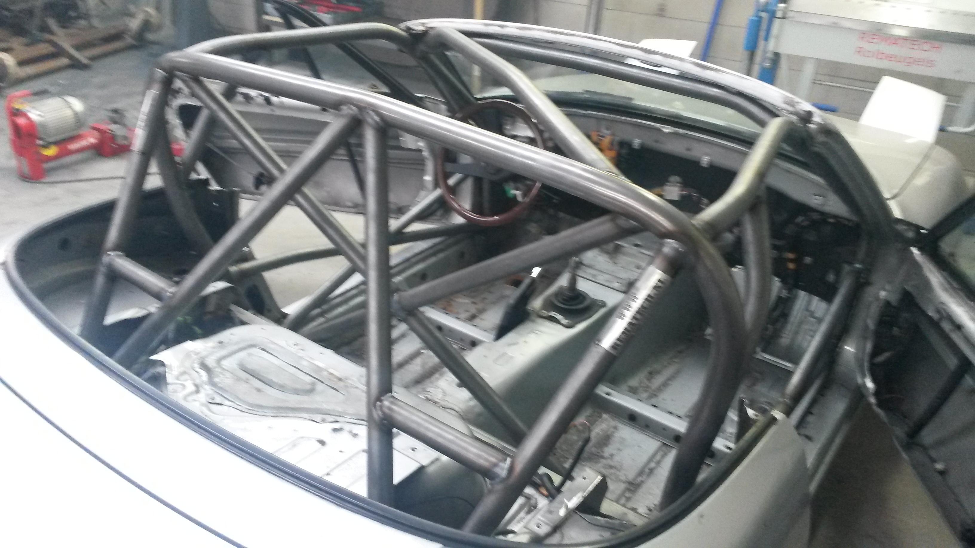 Rolkooi In Een Mazda MX5 Gelast Voor Max5 Cup