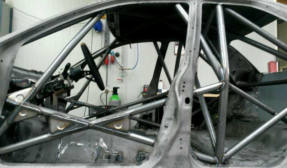 Subaru Impreza GTT GC8 Voorzien Van Rolkooi