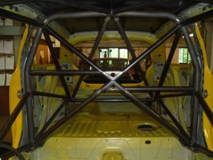 Rolbeugel In Een Citroën DS3 Gelast