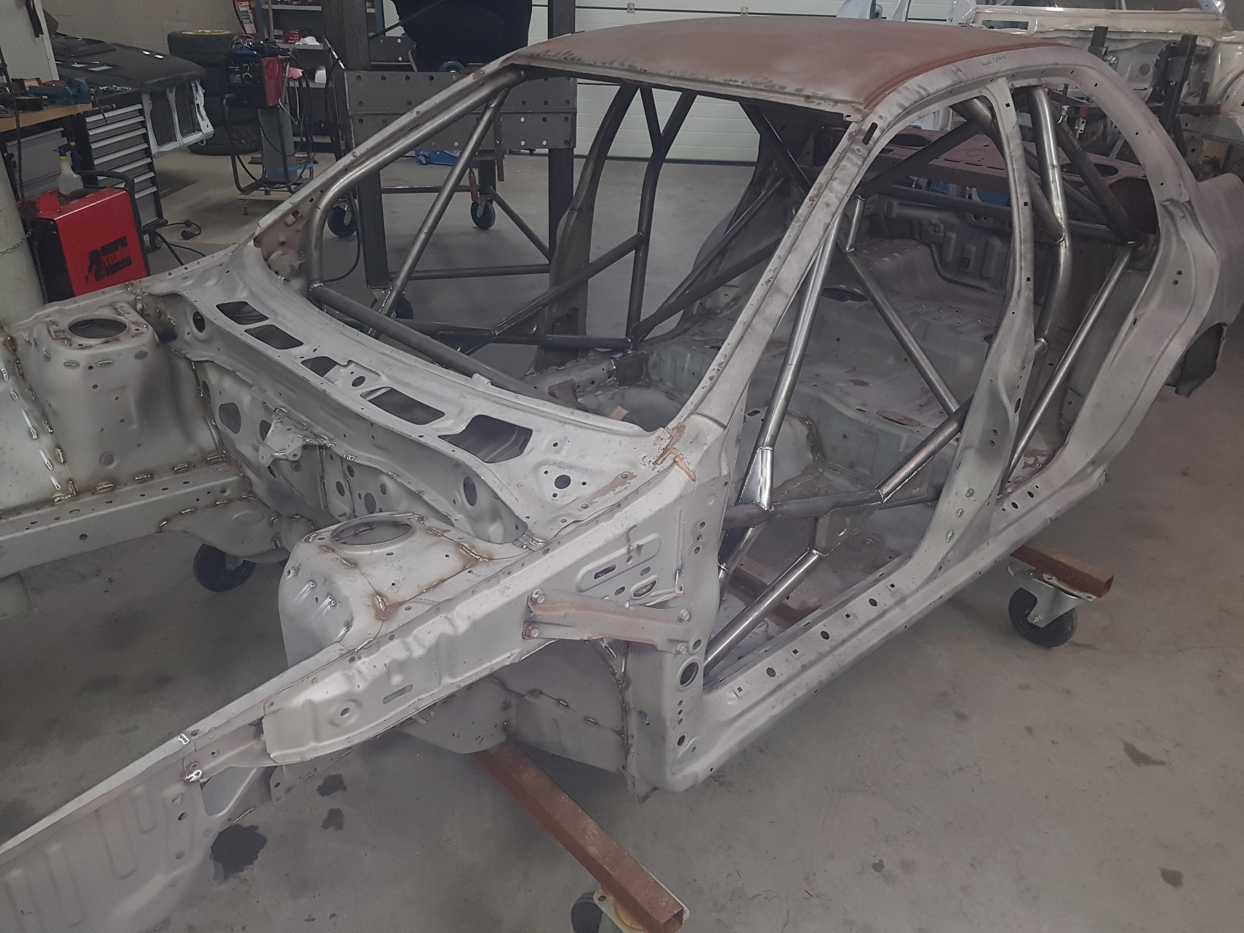 Subaru Impreza GTT GC8 Met Rolkooi E.d.