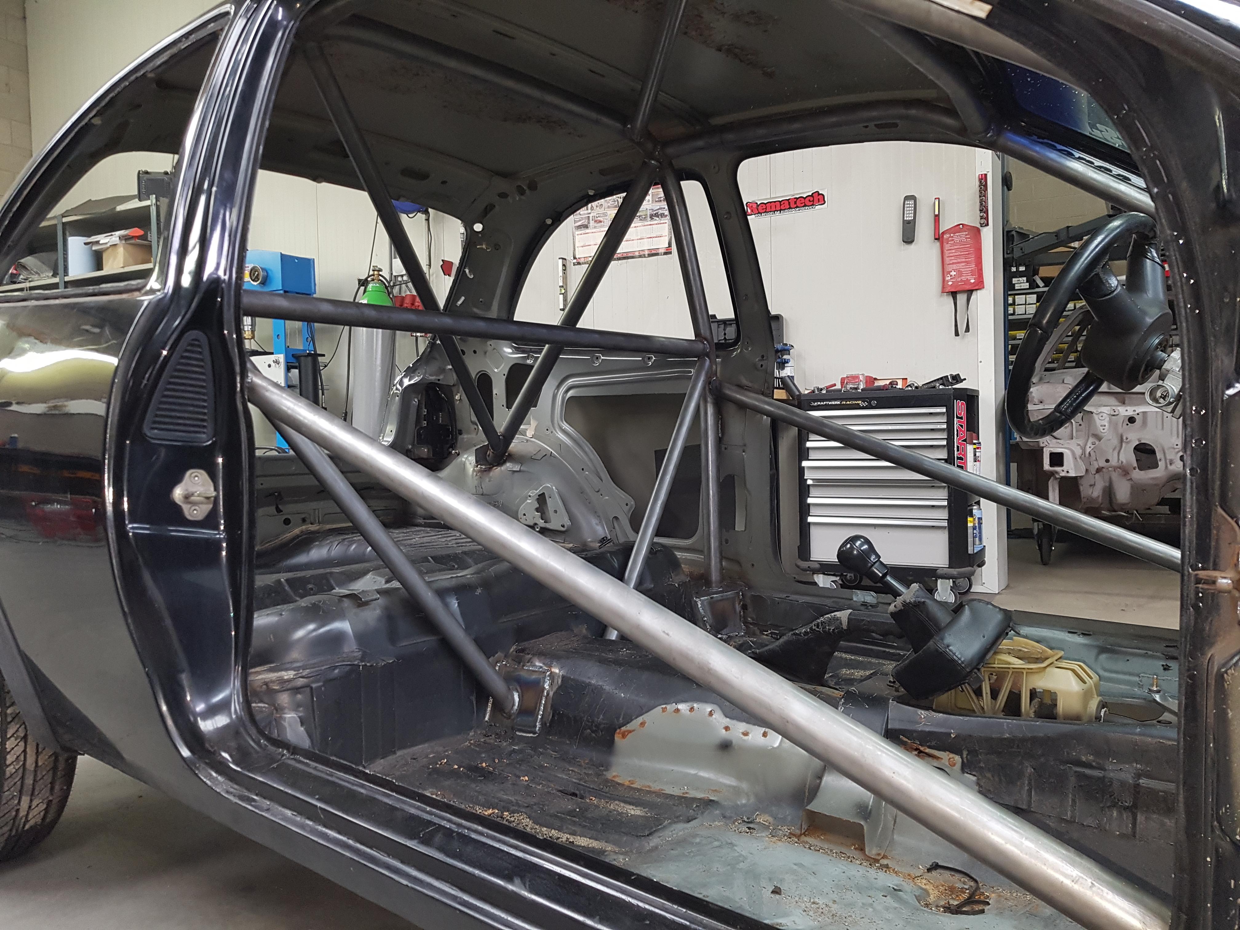 Opel Corsa Rolkooi Dragracing DHRA