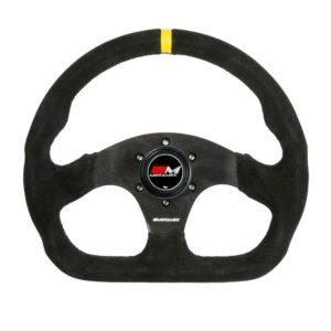 Race Rally Vlak Stuur D Shape – 3 Spaaks – 320mm