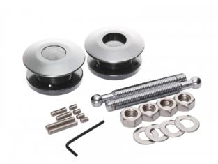 Druk Snelsluiter Aluminium  63mm (per 2)
