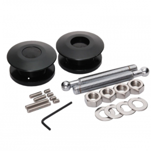 Druk Snelsluiter Aluminium Zwart 63mm (per 2)