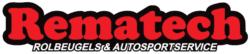Rematech Rolbeugels & Autosportservice Sticker 40cm
