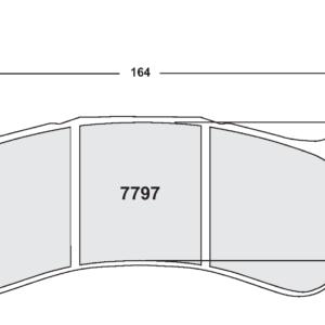 Hyundai I30 N TCR (2017-)Race WTCR/TCR – 25mm Voorzijde
