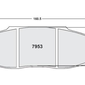 Porsche 997 GT3 GT2 (PFC ZR53 Remtang)
