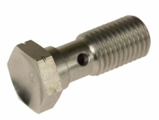 RVS Banjobout 31 Mm Lang M12 X 1,25mm