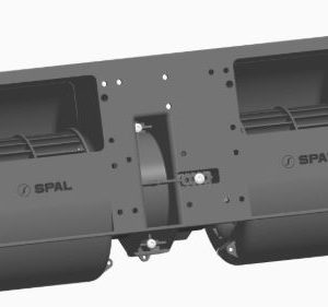 Spal 12v Radiaal Blower Dubbel (1 Stand)