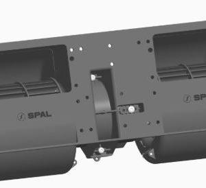 Spal 12v Radiaal Blower Dubbel (3 Standen)