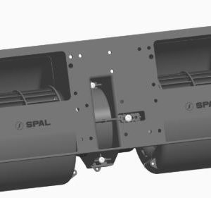 Spal 24v Radiaal Blower Dubbel (1 Stand)