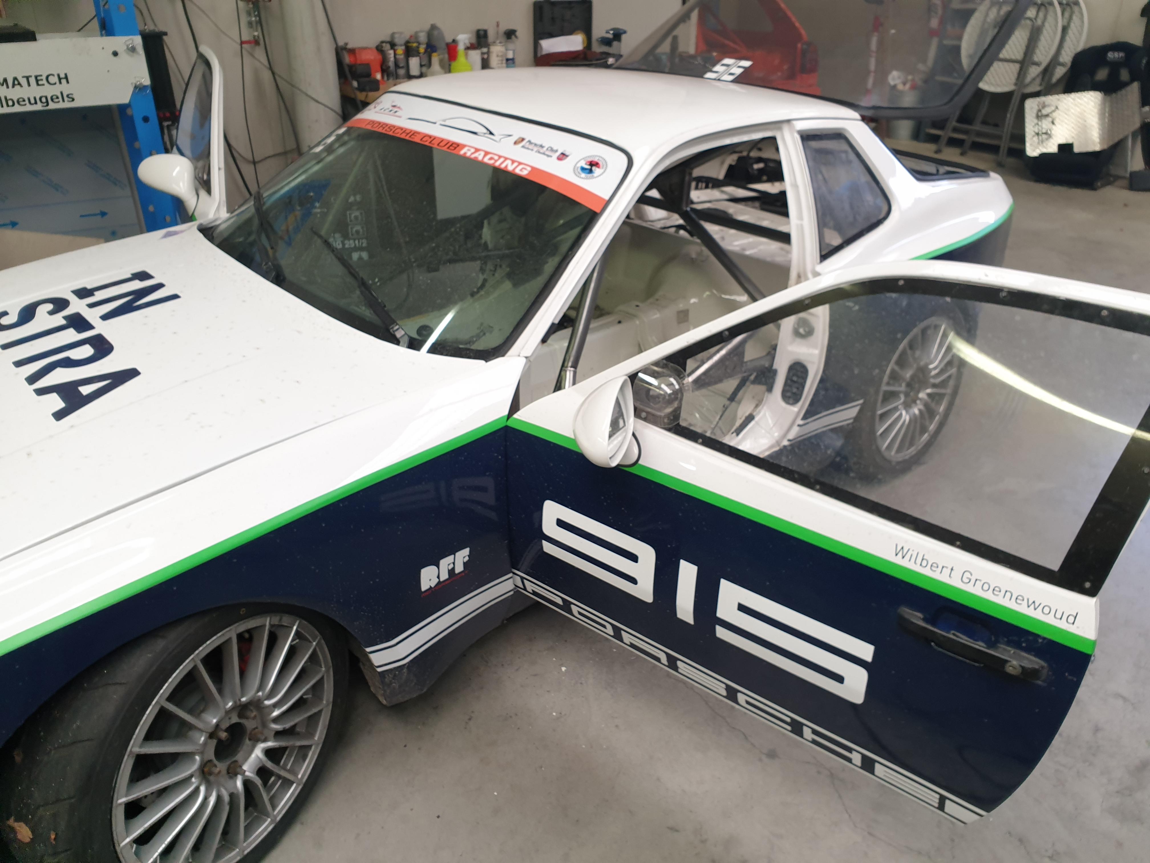 Porsche 944 Voorzien Van Rolkooi Een Raceauto Voor O.a: DNRT