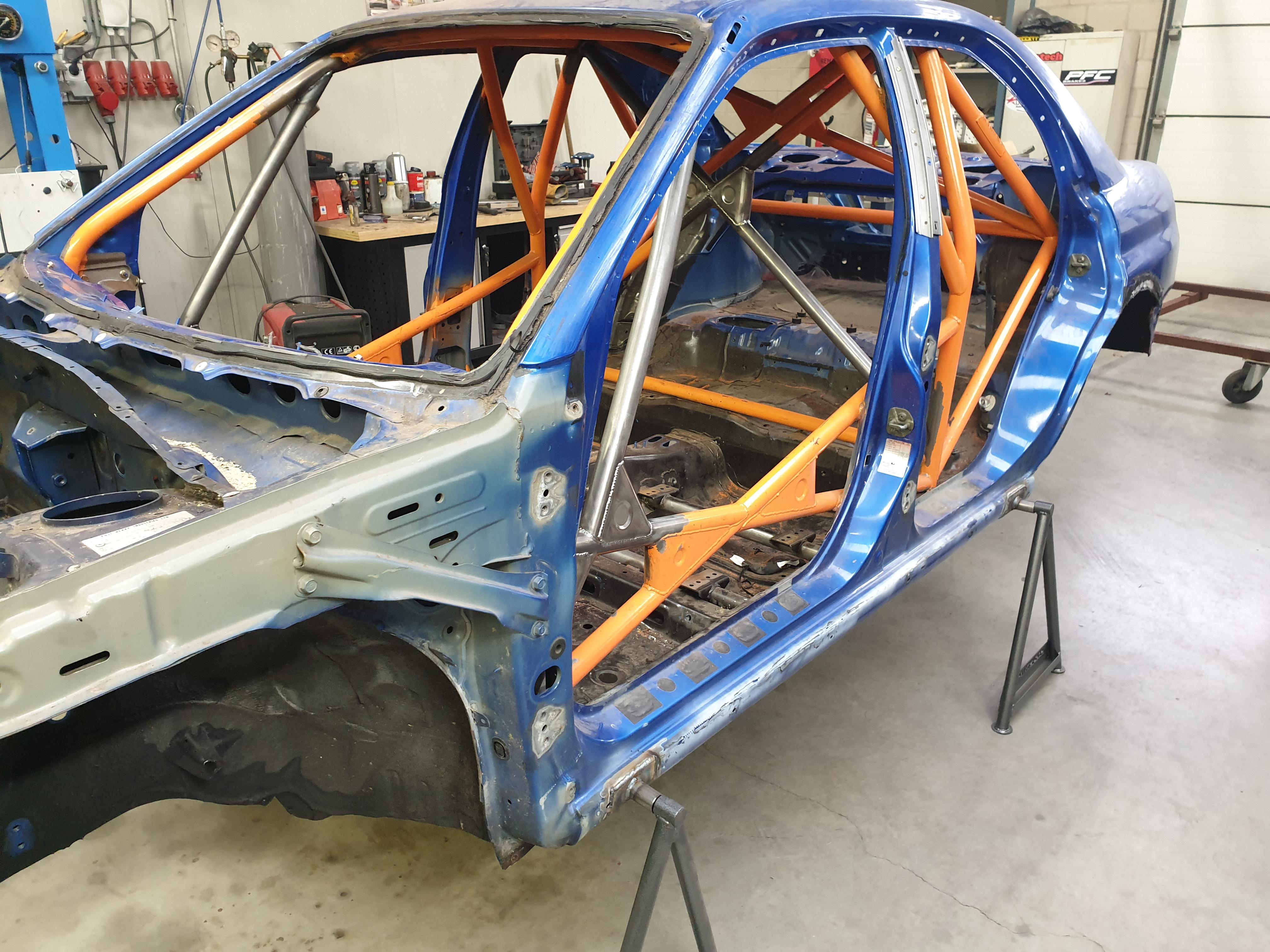 Subaru WRX STI Rolbeugel Aangepast Voor Rallysport.