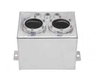 Aluminium Bezine Catch Tank – AN6 Draad | 3 Liter