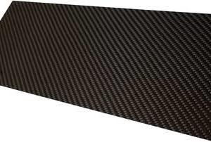 Carbon Plaat 118cm X 53cm