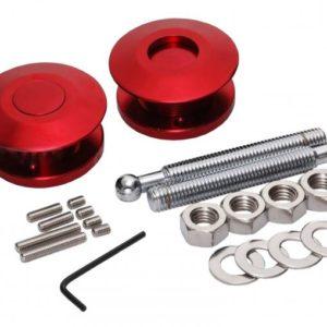 Druk Snelsluiter Aluminium Rood 63mm (per 2)