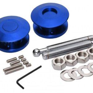 Druk Snelsluiter Aluminium Blauw 63mm (per 2)