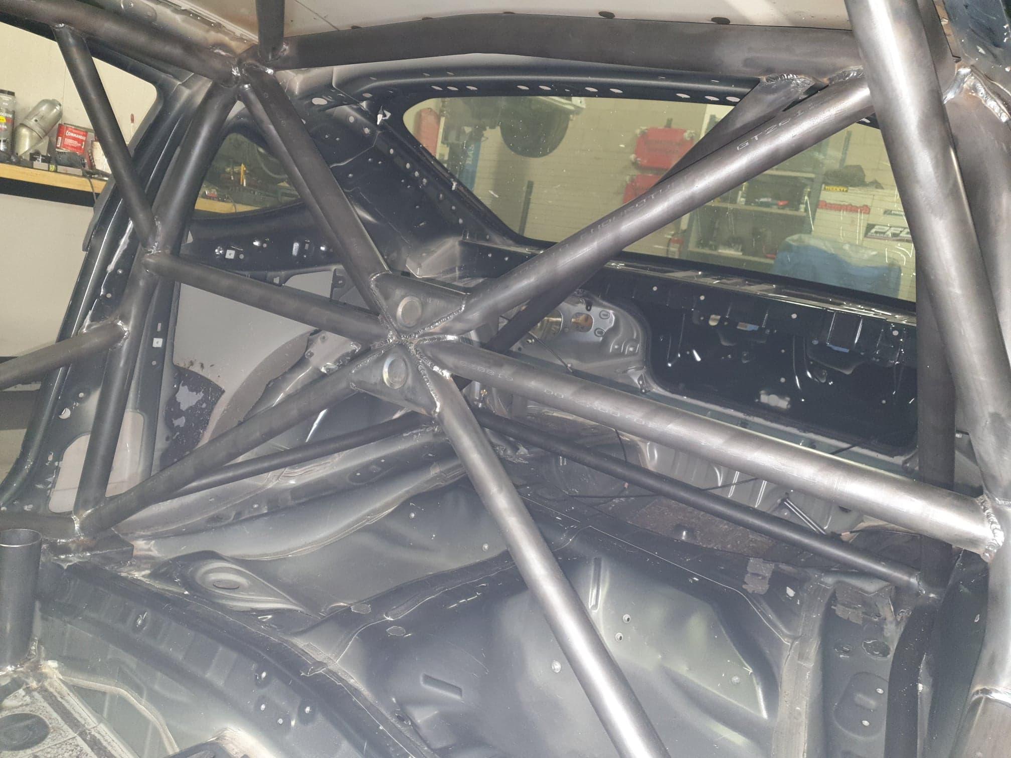Toyota GT86 Van Rolkooi Voorzien, Knaf Gecertificeerd, Voor Racegebruik.
