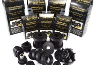 Powerflex Polyurethane Black
